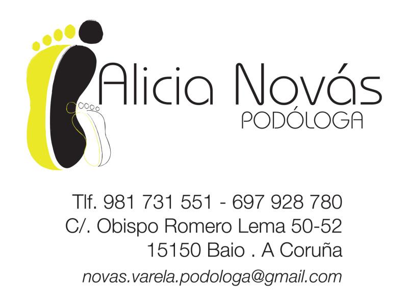 Alicia Novás podóloga