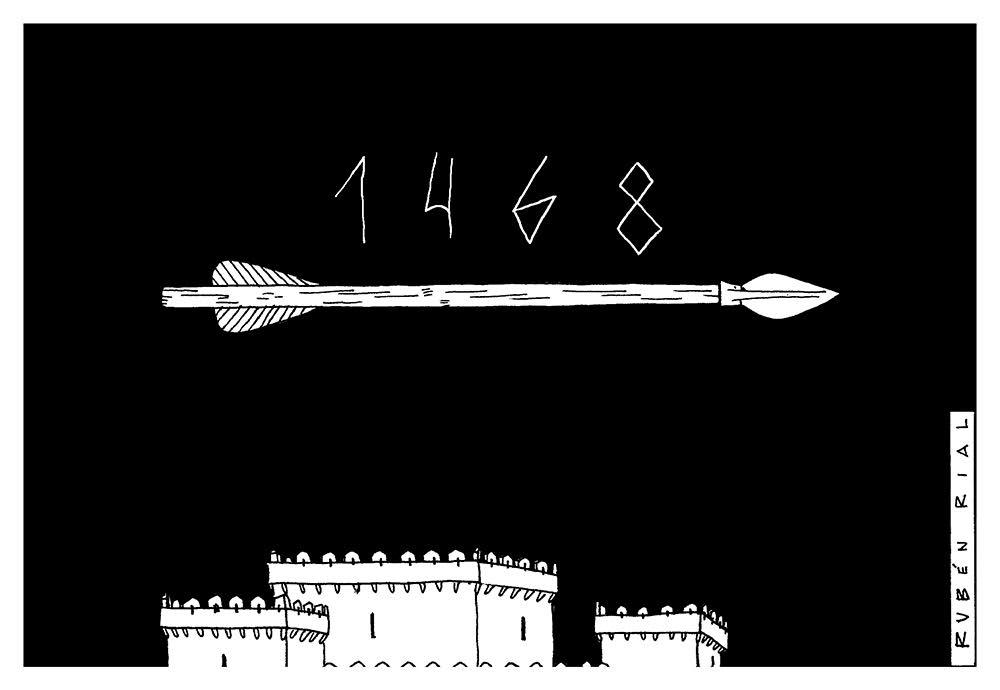 Portada banda deseñada 1468