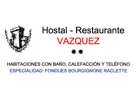Restaurante-Pensión Vázquez